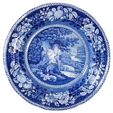 """10"""" """"Sheltered Peasants"""" Plate by Ralph Hall"""