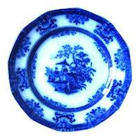 """5 1/4"""" Flow Blue Dessert Plate – Scinde"""