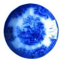 """5 5/8"""" Flow Blue Bowl by Davenport – AMOY"""