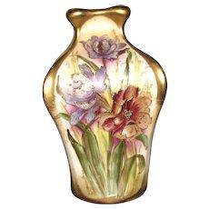 "8 ½"" Teplitz Amphora Porcelain Vase"