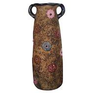 """9 ¾"""" Antique Art Nouveau Amphora Vase - Reissner"""