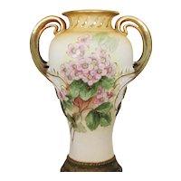 """8 ¼"""" Antique Art Nouveau Amphora Vase – RStK Mark"""