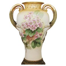 "8 ¼"" Antique Art Nouveau Amphora Vase – RStK Mark"