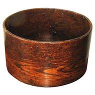Signed Antique Wooden Measure
