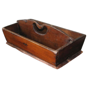 Antique Cutlery Tote or Knife Box