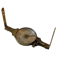Rare Mid 19th Century Surveyor's Vernier Compass by Gennert & Holzke.