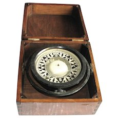 Boxed Brass Ship's Compass – John Bliss & Co.