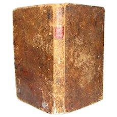 1813 Land Surveying Book by Abel Flint