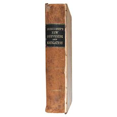 Robinson's Mathematical Series. A New Treatise on Surveying And Navigation.