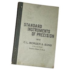 "Antique ""Standards of Instruments of Precision, C.L. Berger & Sons"