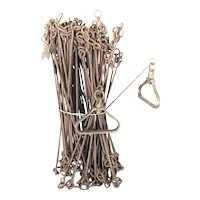 Antique Chesterman Engineer's Chain – 100' (100 Links)