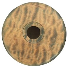 """Hand-Turned Wooden Bowl -One of a kind """"catch all"""""""