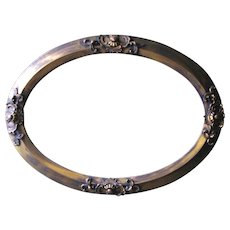 Oval Picture Frame - Victorian