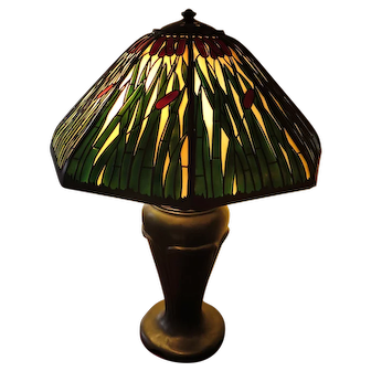 Handel Cattail Table Lamp   It-2-28a