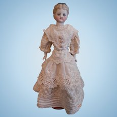 "Antique Parian Doll 10 1/2"""