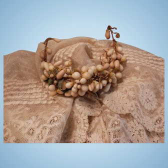 Vintage Wax Flowers