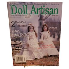 Doll Artisan Magazine  July 2000