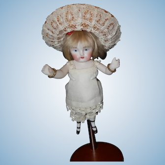 "Wonderful 5"" All Bisque Doll"