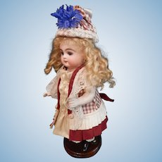 """Artist Petite  Dress/Hat For All Bisque Or Compo     8 1/2""""  9""""  10"""""""