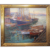 "Frederick Carl Smith, ""Boats In Harbor - Evening"", exhibited California Art Club 1927"