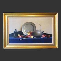 "Robert Douglas Hunter, ""Red Potatoes - Yellow Onions"", oil on canvas, 1986"