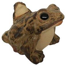 Japanese Shigaraki Pottery Frog