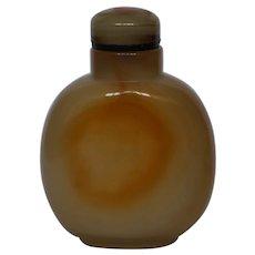 Shadow Agate Floater Snuff Bottle