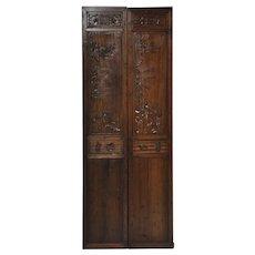 Tall Chinese Door Panels