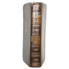 "1824 French ""Vie Des ENFANS CELEBRES ou MODELES Du Jeune Age"" All Leather, Hard Cover, 1st Ed"