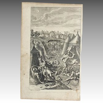 Virgil Woodcut Engraving 82