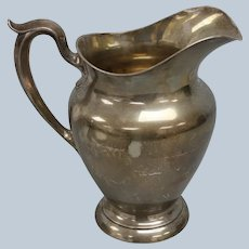 Gorham 182 4 1/4 Pint Water Pitcher - No Monogram