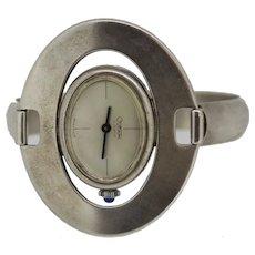 Vintage Italy .800 Gurami 17 Jewel Watch in Silver