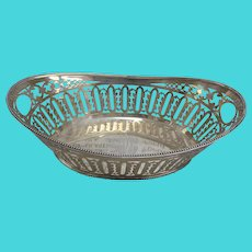 Schwarzschild Bros. Sterling Silver Fruit Basket 1428A 14 3/4""