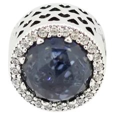 Pandora ALE Sterling Midnight Blue Radiant Hearts Charm 791725NMB
