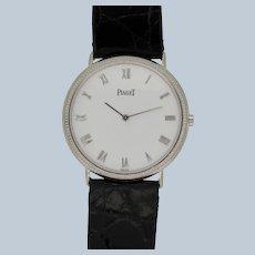 Piaget Redondo 70231 18k White Gold White Dial Quartz Ladies Wristwatch