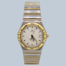 Omega 120230 Constellation Two Tone 18K/Stainless Steel Men's Wristwatch