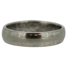 Sterling Silver 5mm Band Ring - Size 8.75