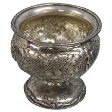 William Kendrick Sterling Silver Grape Vine Waste Pot - Monogrammed