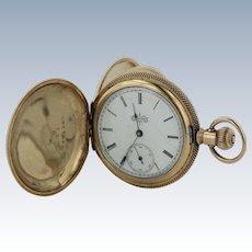 1894 Elgin 6s 7 Jewel Grade 117 14KGF Hunter's Case Pocket Watch