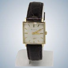 Vintage Bulova M5 17-Jewels 10K Rolled Gold Plate Self-Winding Wristwatch