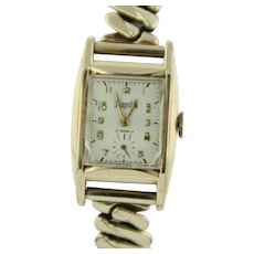 Vintage Kingston Gold-Tone Stainless Steel 10K G.F. 17 Jewels Watch