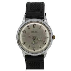 Vintage Gruen Precision Autowind SS/Base Metal Men's Wristwatch