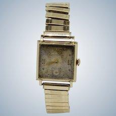 Vintage Girard Perregaux 10k Gold Filled 17-Jewel Wristwatch