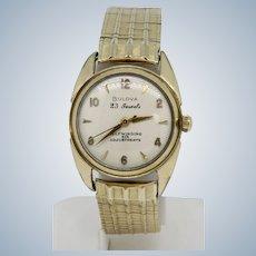 Vintage Bulova 23 Jewels Six Adjustments Self-Winding Men's Wristwatch