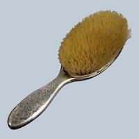 Vintage Gorham Sterling Silver Hair Brush - Monogrammed
