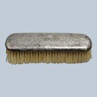 Vintage Gorham Sterling Silver Clothes Brush - Monogrammed