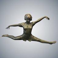 Art Deco Austrian Bronze Ballerina