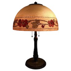 Handel Reverse Painted Lamp