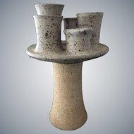 Moderne Ken Ferguson Studio Pottery Sculpture