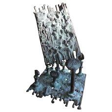 Klaus Ihlenfeld Bronze Sculpture Paperweight